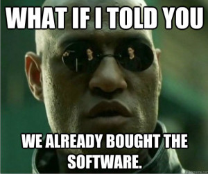 BoughtTheSoftware