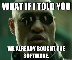 BoughtTheSoftware