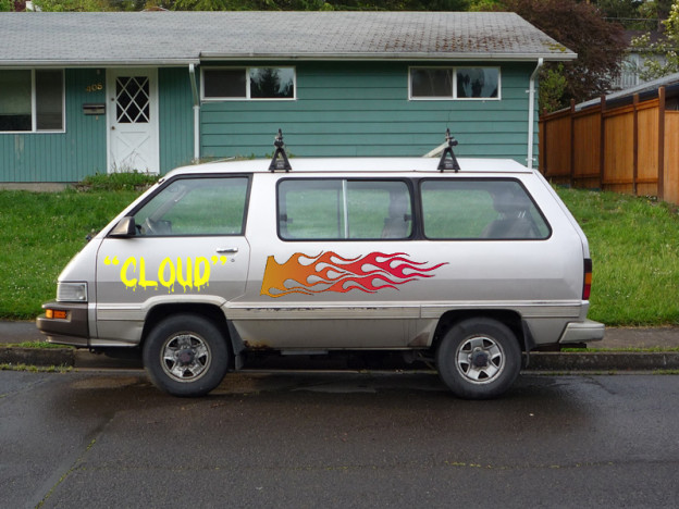 The flames on Cloud PLM van make it go faster.